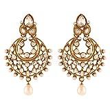 I Jewels Traditional Gold Plated Elegant...