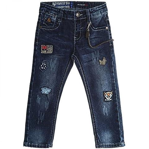 BEZLIT - Jeans - Jambe droite - Uni - Bébé (fille) 0 à 24 mois - Bleu - 12 mois