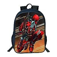 Junior Backpack for Kids 3D Spiderman Backpack for Boys Junior School Bag for Kids Spider Man Superheroes Rucksack Toddlers