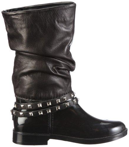Nat-2 Biky WBYBK Damen Stiefel Schwarz/Black