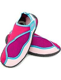Aqua-Speed ® Aqua Chaussures de Model 26(Tailles: 22–40Unisexe antidérapant Structure de piscine piscine fermetures Velcro néoprène)