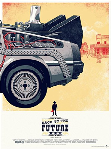 BACK TO THE FUTURE 3 - Michael J Fox - Imported Movie Wall Poster Print - 30CM X 43CM Brand New