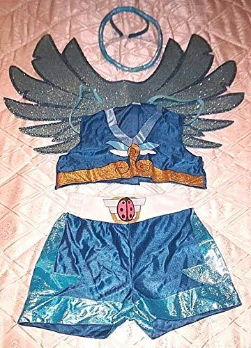 OHNE Marca O GENERICO Zubehör Fasching Karneval Kleid Cartoon Angel's Friends ()