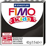Staedtler 8030-9 Fimo Kids Normalblock, 42 g, schwarz