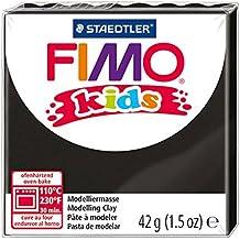Fimo 8030-9 - Pasta de modelar, color negro