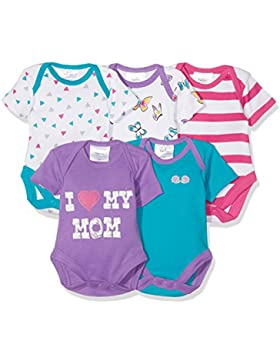Twins Unisex Baby Body, 5er Pack