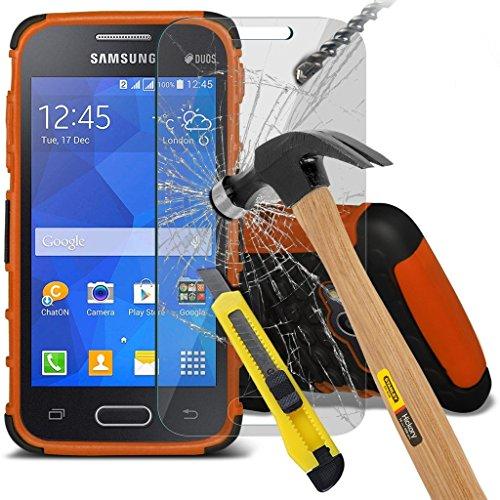 Samsung Galaxy S5 Neo hülle Tasche (Grün + Kopfhörer) Slim-Fit-Abdeckung für Samsung-Galaxie-S5 Neo-hülle Tasche Haltbarer S Linie Wellen-Gel-Kasten-Haut-Abdeckung + mit Aluminium Earbud Kopfhörer, Po Shock + glass (Purple)