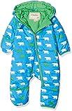 Hatley Baby-Jungen Schneeanzug Mini Winter Bundler, Blau (Roaming Polar Bears 400), 9-12 Monate