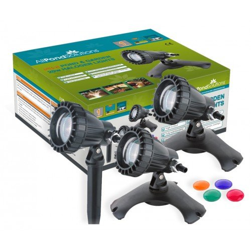 all-pond-solutions-underwater-pond-and-garden-lights-with-colour-lenses-set-of-3