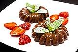 6er Set, Flacher Teller, Kuchenteller, Dessertteller, ca.Ø 20cm, eckig, weiß, Porzellan, REB2220