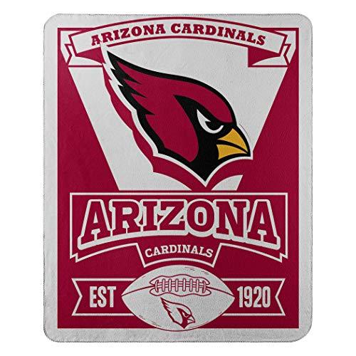 Northwest NFL Dallas Cowboys, Bedruckte Fleece-Decke, Damen Kinder Herren Unisex, 1NFL/03102/0080/AMZ, Arizona Cardinals, 50 x 60