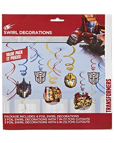 Transformers Aufhängen Swirls (Transformer Dress Up)
