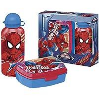 Spiderman–Set Trinkflasche und Sandwichmaker (Kids Euroswan mv15199) preisvergleich bei kinderzimmerdekopreise.eu