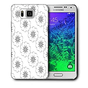Snoogg Covering Chakra Printed Protective Phone Back Case Cover For Samsung Galaxy SAMSUNG GALAXY ALPHA