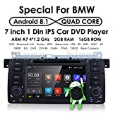 Android 8.1 DVD Player GPS Navigation OS Quad Core 1024600 HD Touchscreen Car Radio for BMW 3 Series E46 M3 318 320 325 330 335 …