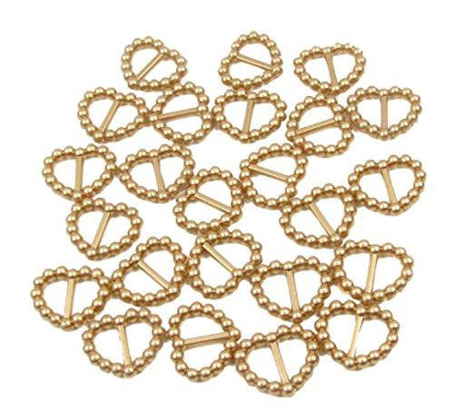 50-x-oro-acrilico-perla-fibbie-a-forma-di-cuore-16-mm-x-15-mm-doppio-nastro-cursori-per-decorazione-