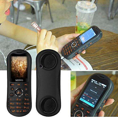 farmer-W Musik-Player Handy, 2,8 Zoll HD Big Screen Tragbare 5800 mAh Energienbank Bluetooth-Lautsprecher GPRS Telefon Unterstützung 3 SIM-Karte und Taschenlampe