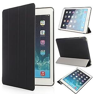 iHarbort d'Apple Air 2 Case - Multi-Angles Smart Cover Case Holder Support en cuir pour Apple iPad Air2 / iPad 6, avec le sommeil / réveil fonction (iPad Air2 / iPad 6), Introduction:  Ce cas fait de cuir de haute qualité PU, et l'intérieur est tapi...