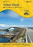 Veibok Norge / Straßenatlas Norwegen 1:500.000 mit Umgebungskarten, Entfernungstabelle und Ortsregister