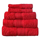 Catherine Lansfield Cl Home Bath Towel, Cherry Red
