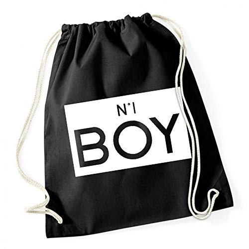 N°1 Boy Sac De Gym Noir Certified Freak