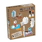 Re Cycle Me DEFG1240 Recycling Bastelspaß Winter Special Edition, Bastelset für 6 Modelle, Kreativset für Kinder ab 4 Jahre, Set zum Basteln mit Haushaltsmaterialien, Recycle Mich, Bastelmix