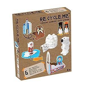 Re Cycle Me-Recycleme defg1240Manualidades Diversión Invierno Special Edition para 6Modelos