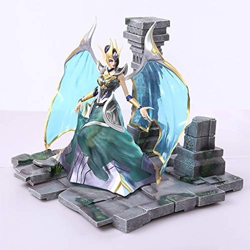 Unbekannt YXZOZZ League of Legends Spielzeug Statue Morgana Modell Puppensammlung/Geburtstagsgeschenk -27CM Sammlung