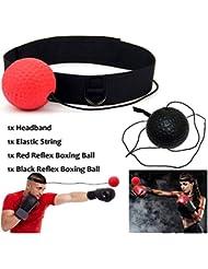 AimdonR Palla da Allenamento Boxe Fight Ball, Riflesso velocità Formazione per Boxer Punch Esercizio Pallina