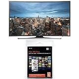 Samsung UE48JU6550 121 cm (48 Zoll) Curved Fernseher (Ultra HD, Triple Tuner, Smart TV) + HD Plus Modul inkl. HD+ Sender-Paket für 6 Monate gratis