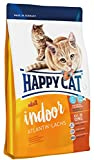 Happy Cat Indoor Adult Atlantik-Lachs, 1er Pack (1 x 10 kg)
