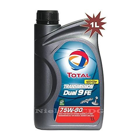 Total Transmission Dual 9 FE 75W90 Manual Gear Box Oil