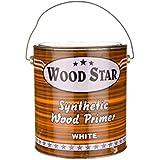 Wooden Star Synthetic Wooden Primer (White, 4 Litre)