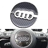 Emblem Trading Carbon Flex Lenkrad Rahmen Logo Mittelkonsole Armaturenbrett Verkleidung Edelstahl Optik Autozubehör