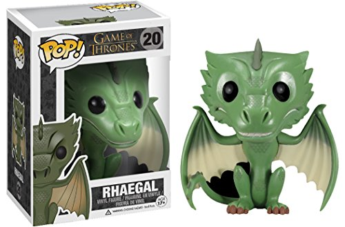 Funko–fu3877–Figura Cine–Game of Thrones–Rhaegal dragón Exclu
