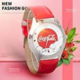 Kent MarkS 2018 Fashion Bear Hot Coca Cola Quarzuhr Damen Herren Uhren Quarz Leder Uhren Montres