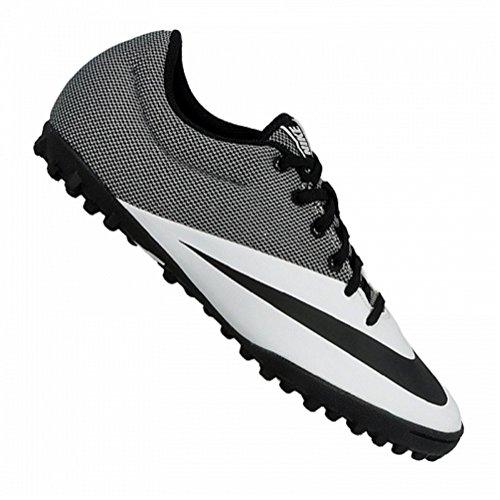 Nike Herren MercurialX Pro TF Fußballschuhe, Blanco (White Black), 44 EU