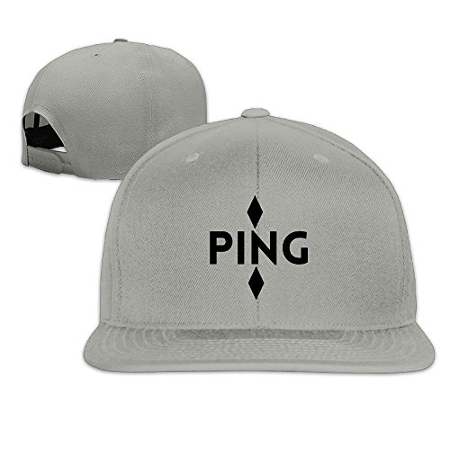 Faverling? Ping American Classic Unisex 100% Cotton Diagonal Cloth Lightweight Baseball Cap Suitable Gym Adjustable Size 3.54x2.75inch Ball Hat For His And Hers