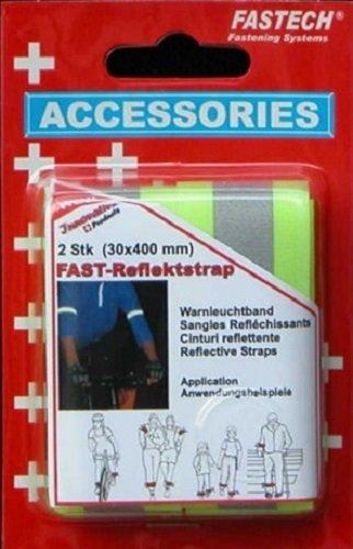 fastech-2-stk-fast-reflektstrap-30x400mm-fluor-y