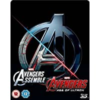 Avengers Double Pack 3D (Includes 2D) – Limited Edition Steelbook Blu-ray