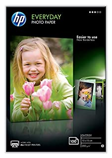 HP CR757A - Papel fotográfico brillante (100 hojas, 10 x 15 cm) (B007G969Y4)   Amazon Products