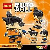 CuteDoll Figura de Goku Kakaroto Dragonball Dragon Ball Puzzle Juego Bloques de construccion tamaño...