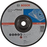 Bosch 2 608 603 184 - Disco de desbaste acodado Standard for Metal - A 24 P BF, 230 mm, 22,23 mm, 6,0 mm (pack de 1)