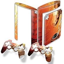 Colección 24, Custom Consola PS3FAT Slim Full Body diseño pantalla Skin Protector Funda Meine Musik 10013 PS3 Superslim Designfolie