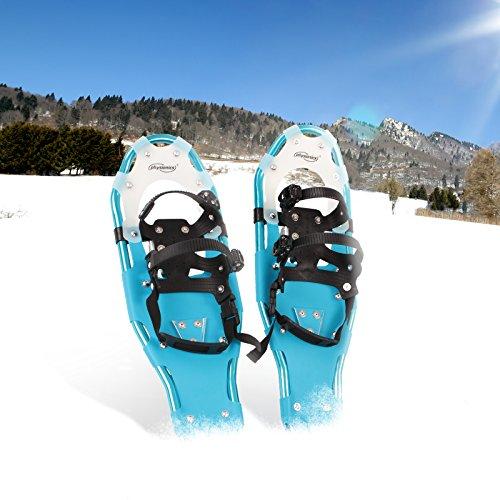 Schneeschuhe Eisschuhe Schnee- Wanderschuhe in zwei verschiedenen Größen und Farben wählbar