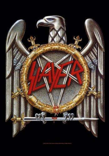 Slayer Eagle posterflaggen Bandiera 75x 110cm