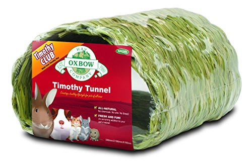 Oxbow Small Animal Edible TIMOTHY TUNNEL Rabbit Guinea Pig & Chinchilla