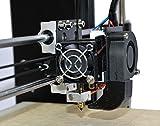 HICTOP 24V 3D Printer Parts Desktop Prusa I3 DIY Kits Aluminum Machine (Black) Bild 2