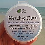 PIERCING CARE ! Healing Sea Salts & Bota...
