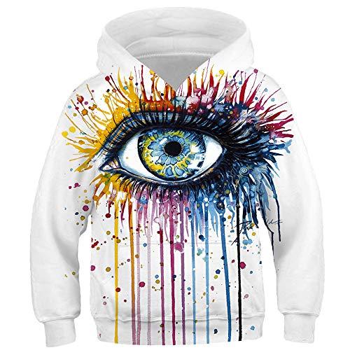 995bae68 TakushiHF Teen Boys Girls Fashion 3D Printed Galaxy Long Sleeve Pullover  Hoodies Hooded Sweatshirts with Pocket